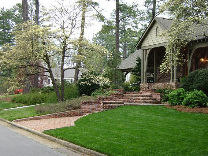 North carolina landscapers outdoor living contractors for Landscape design raleigh