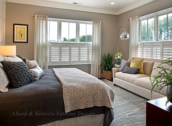 Best asheville interior designers allard and roberts for Interior design bedroom traditional