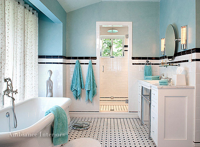 Asheville interior designers ambiance interiors western nc for Bath remodel asheville nc