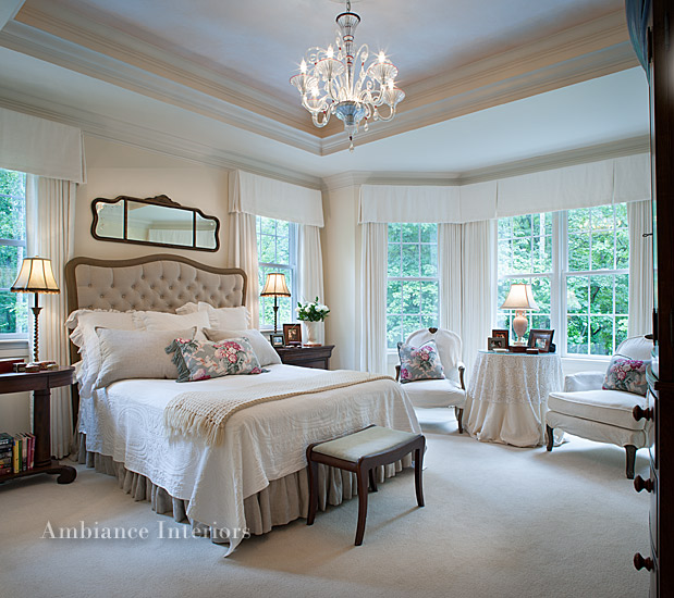 Interior design in nc raleigh interior designers steiner for Interior design bedroom traditional