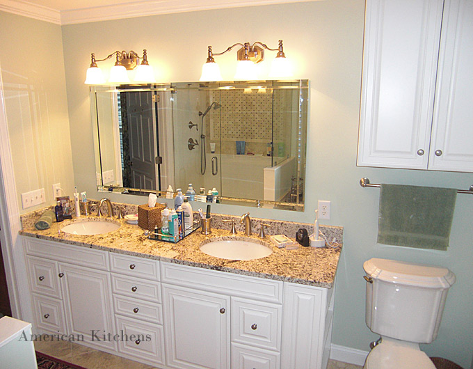 Charlotte custom cabinets american kitchens nc design for Kitchen bathroom photos