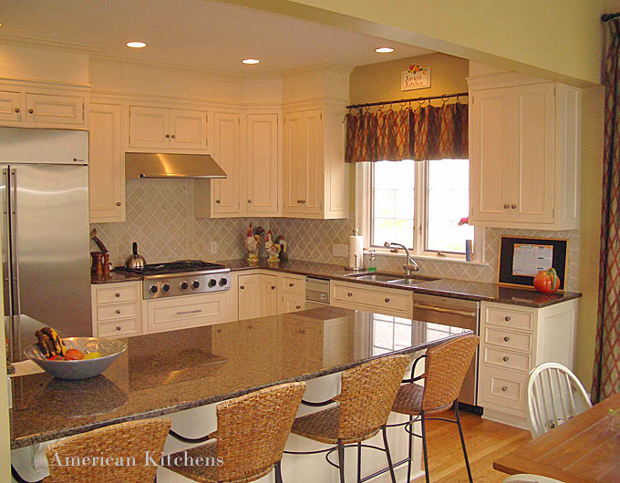 Charlotte custom cabinets american kitchens nc design - Kitchen and bath designers ...