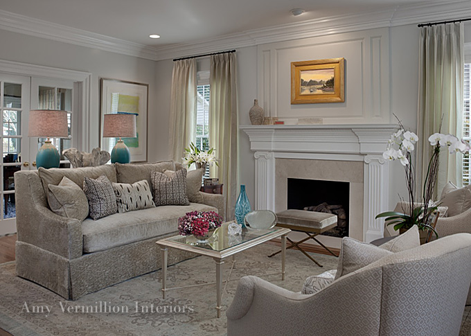 Charlotte interior designers amy vermillion nc design for Charlotte nc interior designers