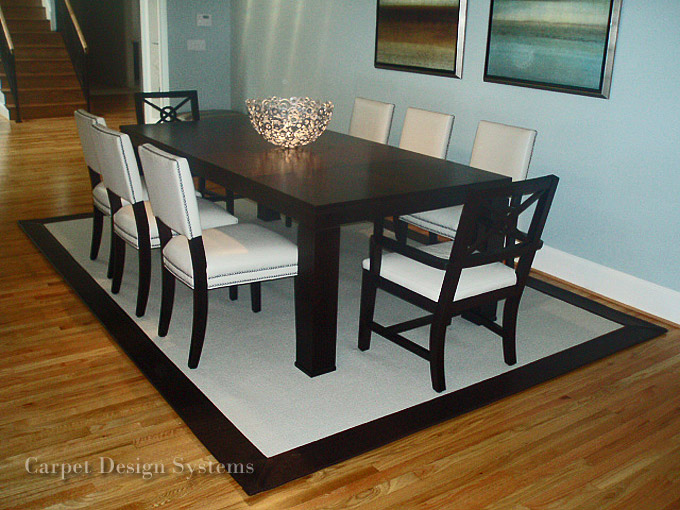 Design 800600 Dining Room Carpet Protector Kitchen Table