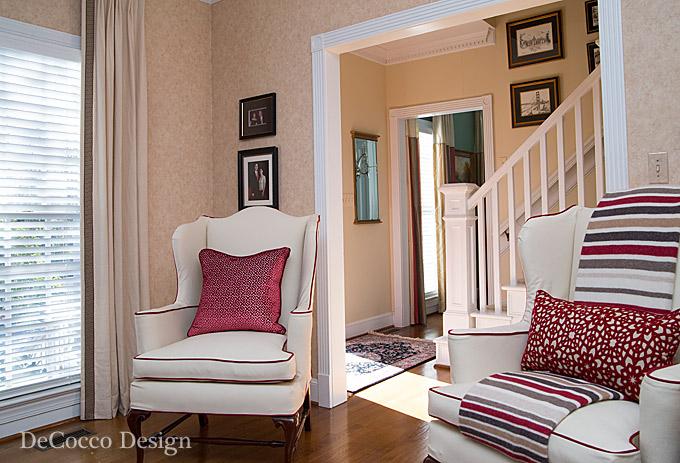 Raleigh interior designers decocco design for Interior decorators raleigh nc