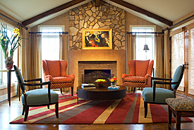 With Clean Sophisticated And Classic Detail Interiors Of The Winston Salem Design Firm Are Punctuated By An Abundance Good Taste