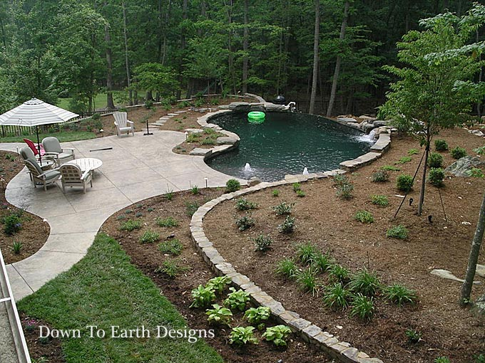 Raleigh landscapers landscaping raleigh nc design online for Earth designs landscaping