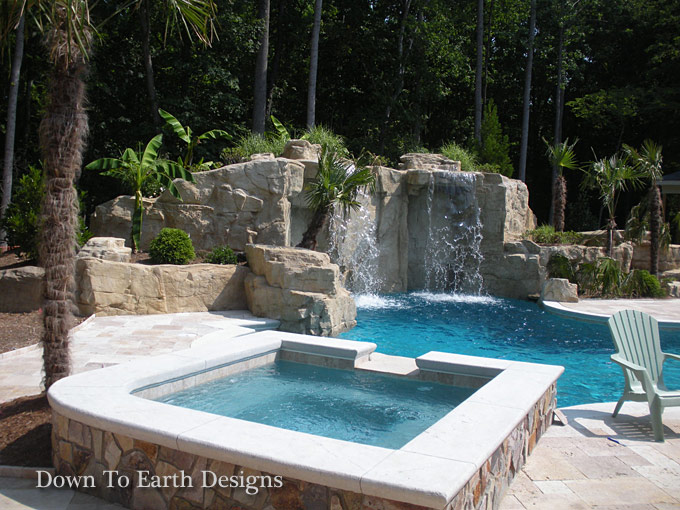Down To Earth Designs 1 - Raleigh Landscapers Landscaping Raleigh NC Design Online