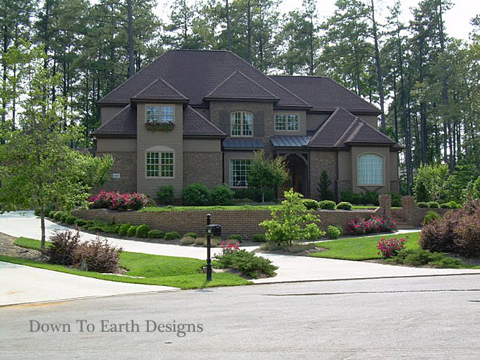 Click to Enlarge; Down To Earth Designs 3 - Raleigh Landscapers Landscaping Raleigh NC Design Online