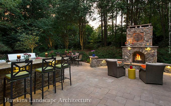 Greensboro Landscape Architects | Hawkins Landscape Architects