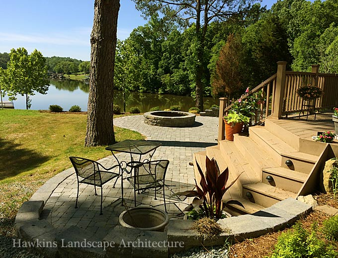 Greensboro landscape architects hawkins landscape architects for Landscape architects directory
