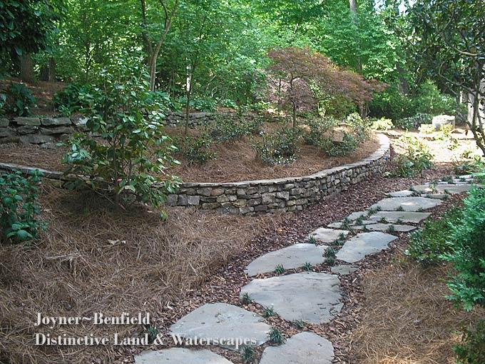 Charlotte landscapers joyner benfield nc design online for Landscape design charlotte nc