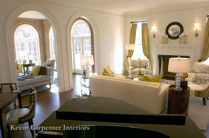 Charlotte interior designers kevin carpenter interiors for Charlotte nc interior designers