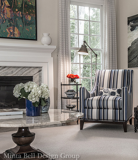 Raleigh chapel hill interior designers minta bell for Interior design group