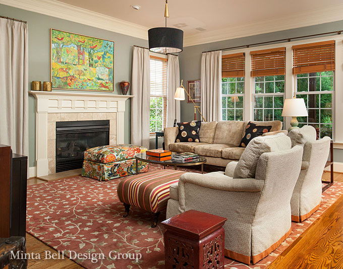 Raleigh chapel hill interior designers minta bell for Interior design raleigh nc