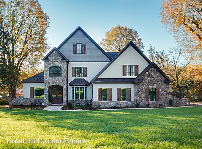 lakenorman charlotte custom home builder passarelli