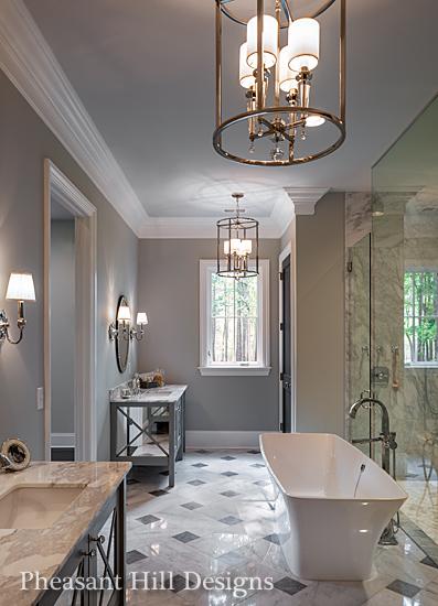 Charlotte interior designers pheasant hill designs nc for Bathroom interior design charlotte nc