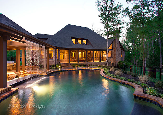 charlotte pool builder and landscaper pool by design