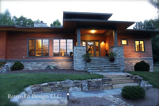 Asheville residential designers architecture retro fit for Retro modern house