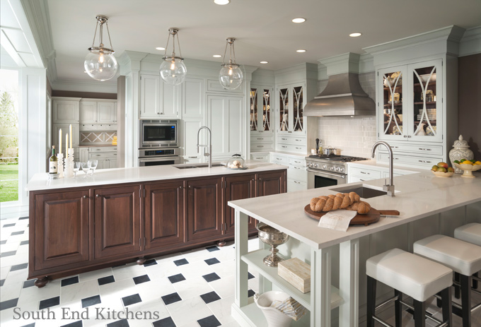Charlotte kitchen and bath designers south end kitchens for Charlotte kitchen cabinets