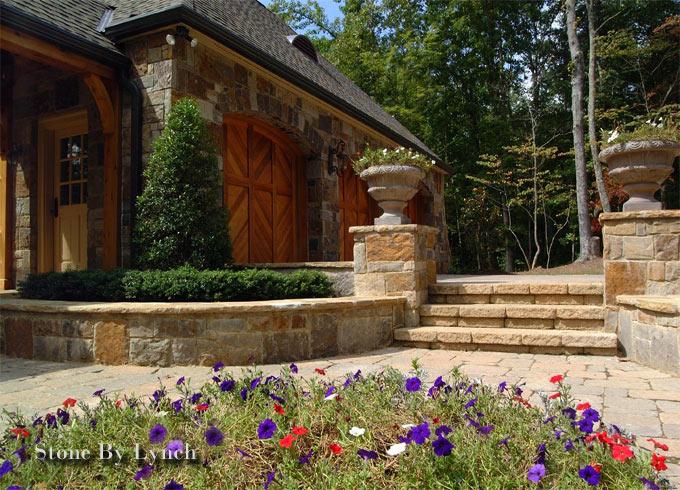 Charlotte stonemason stone by lynch nc design online for Landscaping rocks charlotte nc