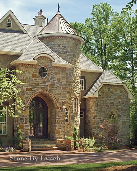 Decorative Stone Homes : Charlotte stonemason stone by lynch nc design online