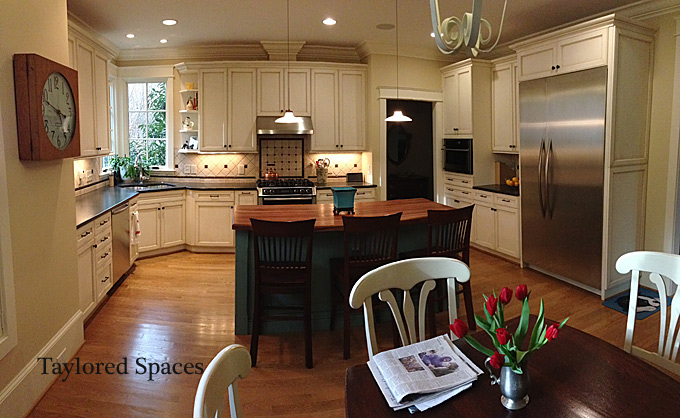 Taylored spaces 3 Kitchen design center raleigh nc