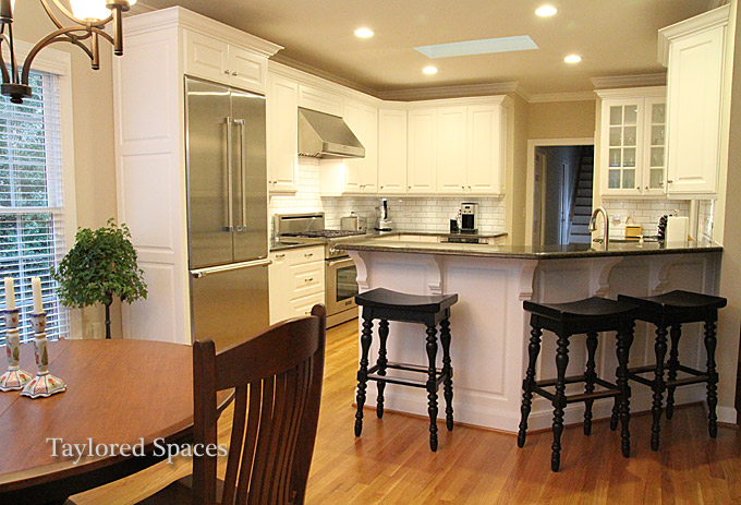 Raleigh kitchen designers taylored spaces nc design for Kitchen design raleigh