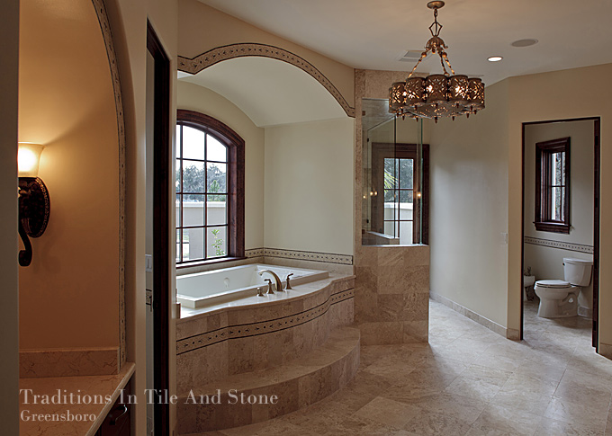 Traditions in tile tile design ideas for Bath remodel greensboro nc