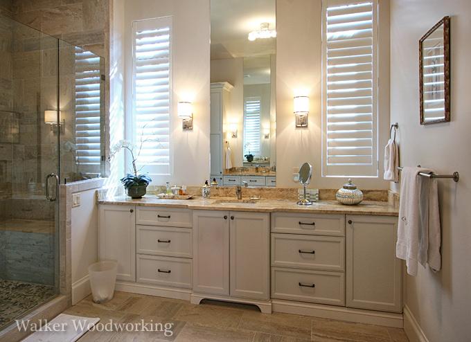 Bathroom Design Charlotte Nc charlotte custom cabinetry, furniture | walker woodworking | nc design