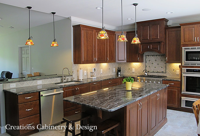 raleigh remodelers | creations cabinetry and design