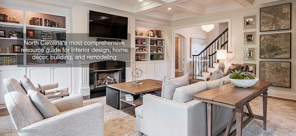 North Carolina Interior Design Designers In